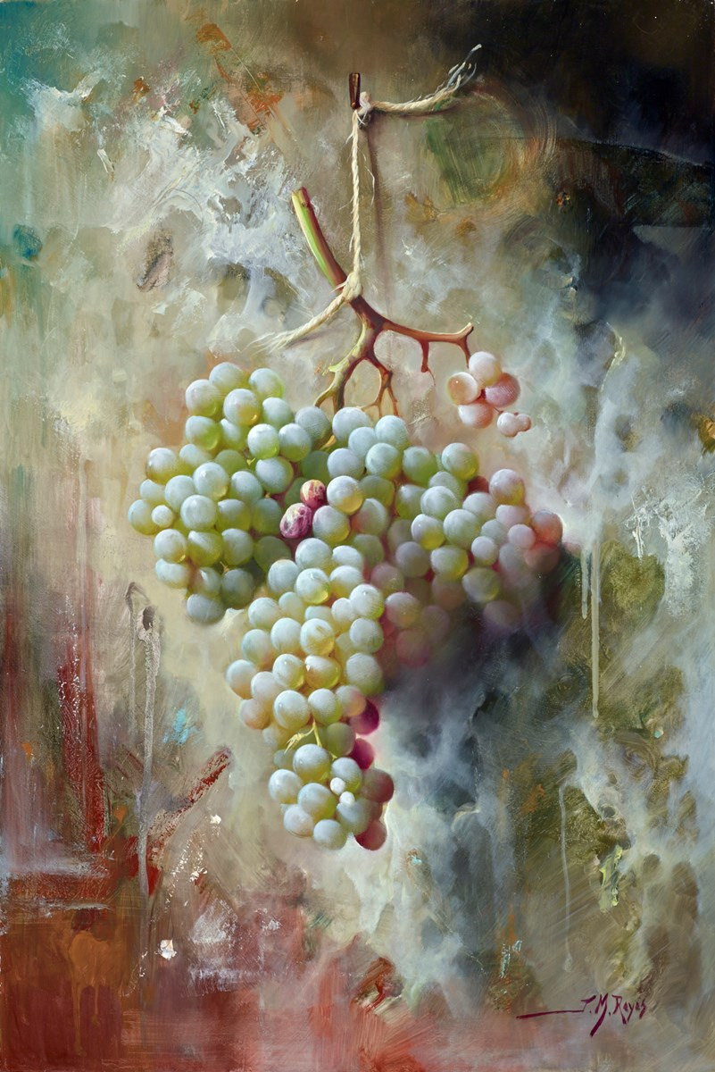 Uvas Verdes II by j m reyes -  sized 16x24 inches. Available from Whitewall Galleries